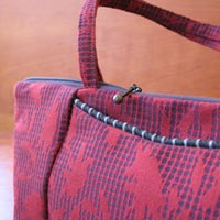 Handbags featured at Mackerel Sky Gallery of Contemporary Craft