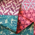 Sally Jones scarves featured at Mackerel Sky Gallery of Contemporary Craft