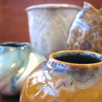 Flambeaux Pottery featured at Mackerel Sky Gallery of Contemporary Craft