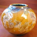 Flambeaux vase featured at Mackerel Sky Gallery of Contemporary Craft