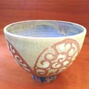 Liz Kinder bowl featured at Mackerel Sky Gallery of Contemporary Craft
