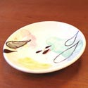 Lollipop Pottery plate featured at Mackerel Sky Gallery of Contemporary Craft