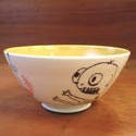 Lollipop Pottery bowl featured at Mackerel Sky Gallery of Contemporary Craft