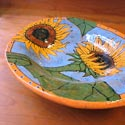 Deb Stabley platter featured at Mackerel Sky Gallery of Contemporary Craft