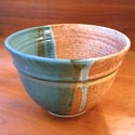 Sunset Canyon bowl featured at Mackerel Sky Gallery of Contemporary Craft