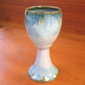 Sunset Canyon goblet featured at Mackerel Sky Gallery of Contemporary Craft