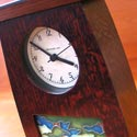 Schlabough and Sons clocks featured at Mackerel Sky Gallery of Contemporary Craft