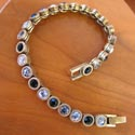 Bracelets by jeweler Patricia Locke featured at Mackerel Sky Gallery of Contemporary Craft