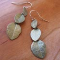 Silver Seasons earings featured at Mackerel Sky Gallery of Contemporary Craft