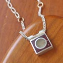 Necklace by Jeweler Eileen Sutton featured at Mackerel Sky Gallery of Contemporary Craft