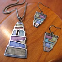 Carly Wright featured Jeweler at Mackerel Sky Gallery of Contemporary Craft