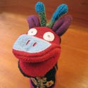 Cate & Levi puppet featured at Mackerel Sky Gallery of Contemporary Craft