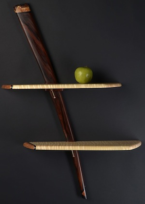 Rosewood Shelf by Peter Czuk at Mackerel Sky Gallery